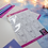 Thumbnail: Colour Your Own English Bull Terrier Planner Sticker Sheet
