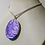 Thumbnail: Swans in Love Silver Chain Pendant Necklace Spring Ring Clasp Blue Gold White