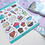 Thumbnail: Yummy Food and Drink Planner Sticker Sheet Colourful Stickers