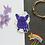 Thumbnail: Purple Yoyo the French Bulldog Frenchie Matt Sticker