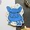 Thumbnail: Blue Yoyo the French Bulldog Frenchie Matt Sticker