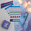 Thumbnail: Adult Reward Illustrated Planner Sticker Sheet Colourful Encouraging Stickers
