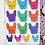 Thumbnail: Brightly Coloured French Bulldog Frenchie Planner Sticker Sheet