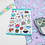 Thumbnail: SECONDS Yummy Food and Drink Planner Sticker Sheet Colourful Stickers