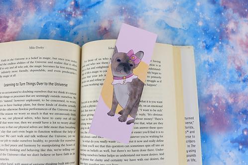 Kawaii French Bulldog Bookmark