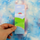 Thumbnail: Kawaii Spring Scene Bookmark