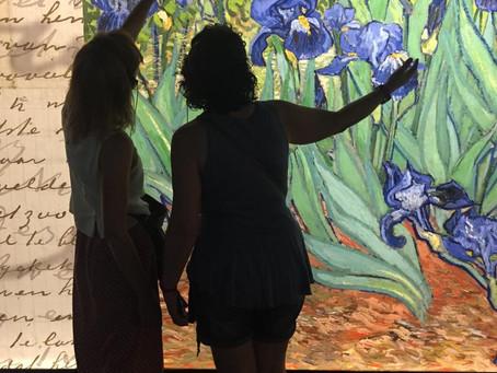 Exposició interactiva de Van Gogh a Barcelona