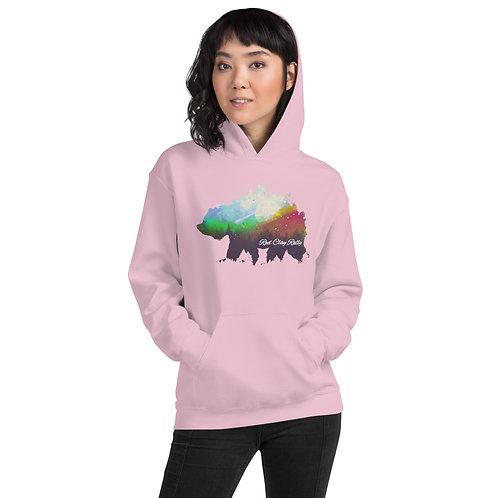 Pastel Bear graphic hoodie