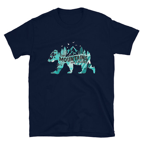 Mountains are calling Bear Tee