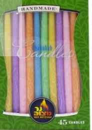 Pastel Chanukah Candles 28305