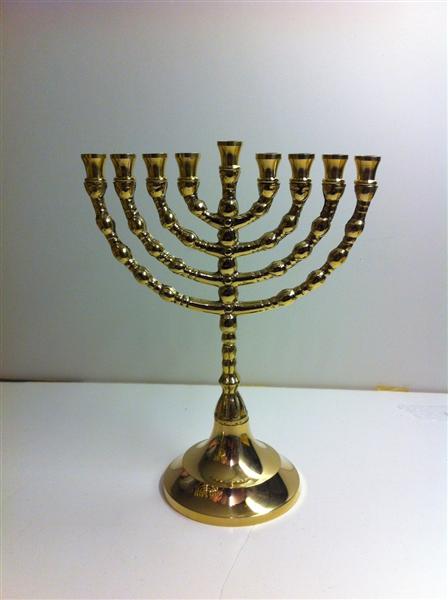 Brass 19cm Chanukia