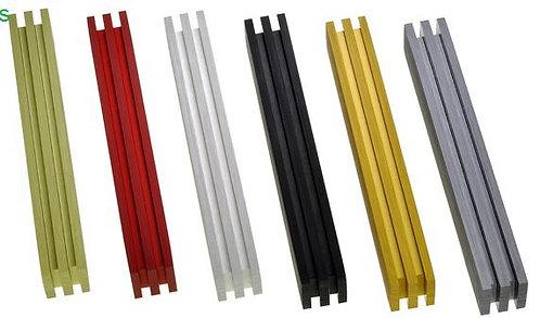 Adi Sidler 3 Line Aluminium Mezuzah