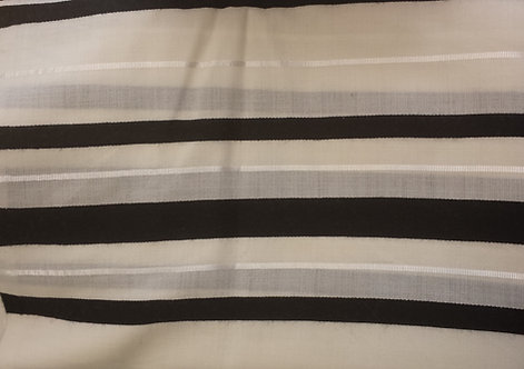 Tallis - Prayer Shawl Black & White