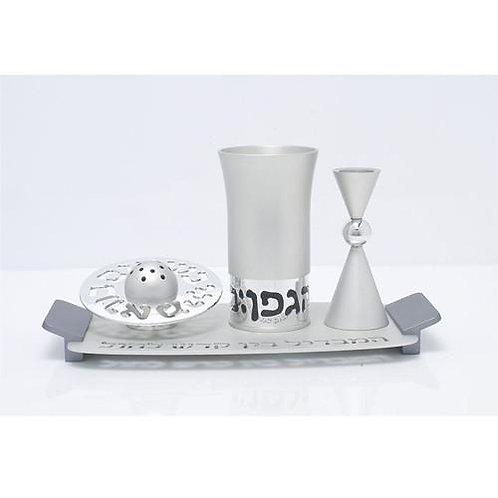 Agayof Havdalah Set Silver