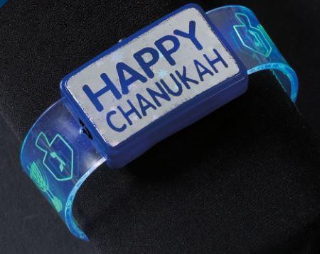 CHANUKAH FLASHING LED BAND