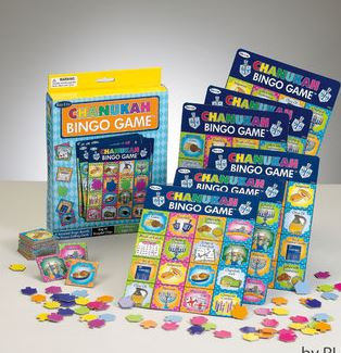 Chanukah Latke Bingo Game