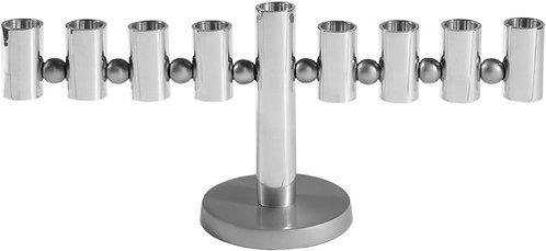 Aluminum Menorah Silver