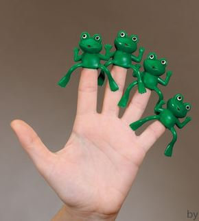 Finger Frogs