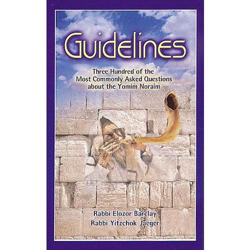Guidelines to Yamim Noraim