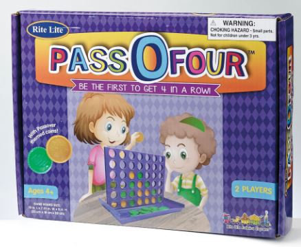 """PASS-O-FOUR"" TM PASSOVER GAME"