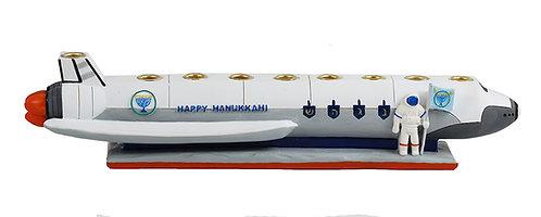 Poly Resin Spaceship Menorah