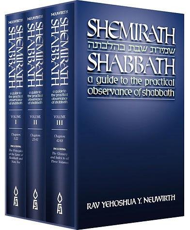 Shemirath Shabbat 3 Vol