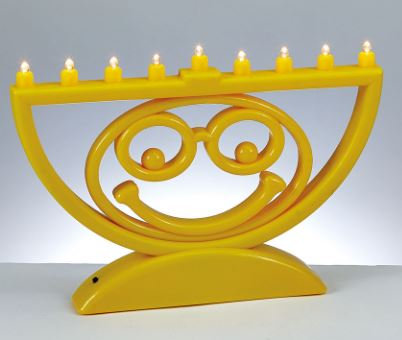 """MENOJI"" - The Battery Operated LED Menorah"