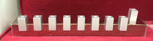 Emanuel Stick Menorah - Silver