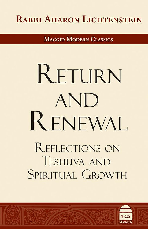 Return and Renewal