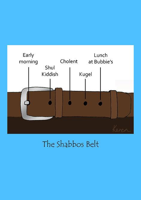 Shabbos Belt