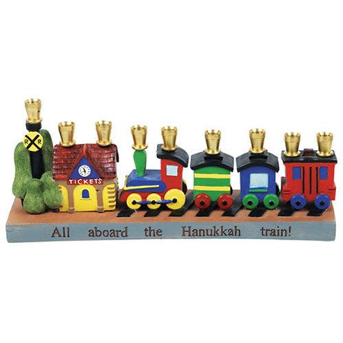 Railroad Menorah