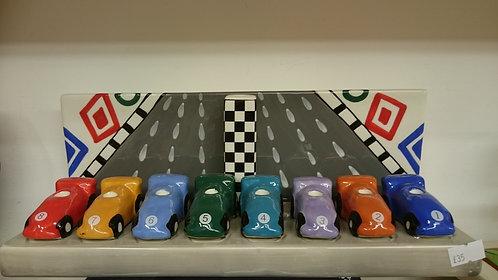 Racing Car Menorah