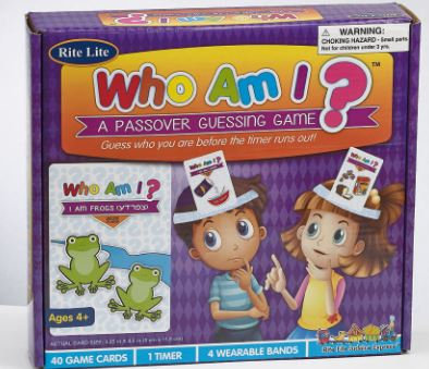 """""""WHO AM I?"""" A PASSOVER GUESSING GAME"""