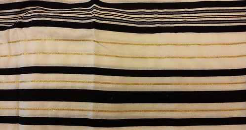 Tallis - Prayer Shawl Black/Gold