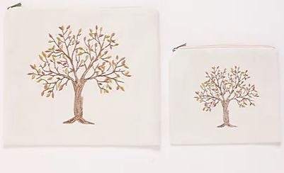 PU Leather Tree Set - White