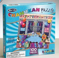 100 Piece Chanukah Jigsaw Puzzle