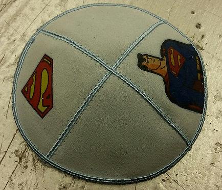 Superman Blue Kippa