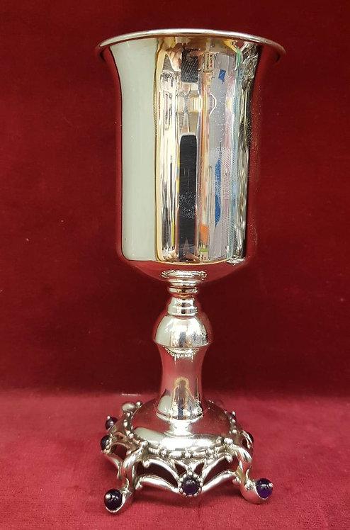 Nadav Sterling Silver Cup & Plate