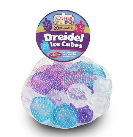 REUSABLE DREIDEL ICE CUBES