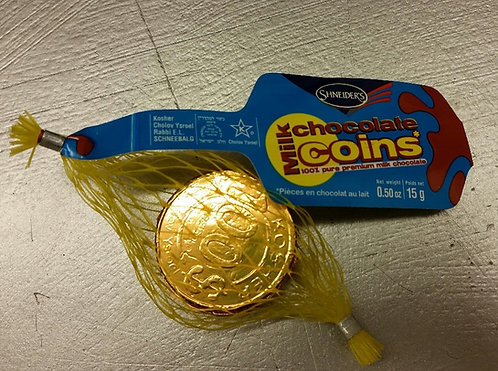Gold Mily Chocolate Coins - 3 pack