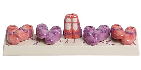 Ballet Shoes Menorah
