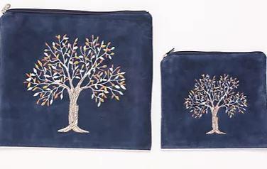 PU Leather Tree Set - Blue