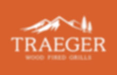 BF-Logos_Traeger Logo White on Orange_Tr