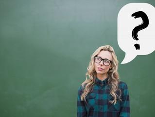 Pergunte MUITO na hora de aprender inglês
