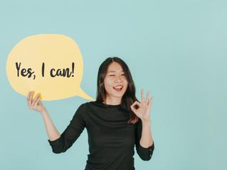 A importância de ser positivo quando se está aprendendo uma língua