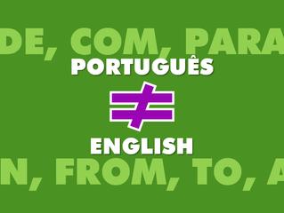 7 preposições que estudantes do Brasil costumam errar em inglês