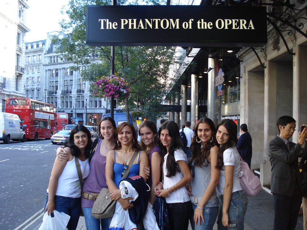 Turistas em Londres