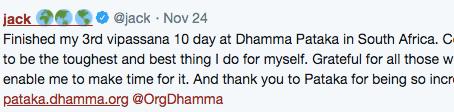 CEO of Twitter & Meditation