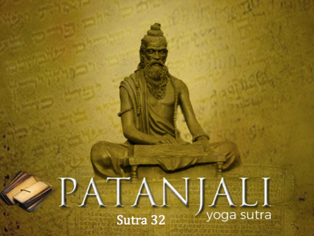 Sutra 32: Removal of obstacles by one-pointedness