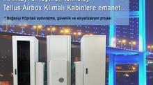 İki kıtayı birleştiren teknoloji Tellus Klimalı Kabinlere emanet